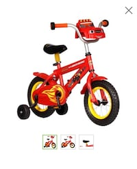 Children's red and black training bicycle Alexandria, 22304