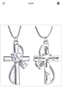 Cross necklace front and back Pocatello, 83202