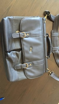 Solo brand leather briefcase Jersey City, 07310