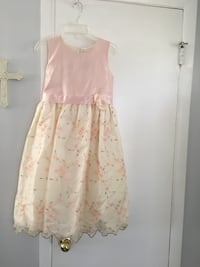 """Little Girls Lace Silk Dress by """"Dimples-Los Angeles"""" Dearborn Heights, 48127"""
