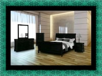 11pc Black bedroom set Upper Marlboro, 20772