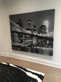 Large canvas NY city