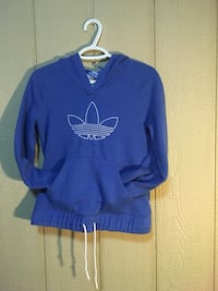 Blue and white nike pullover hoodie Edmonton, T5X 6G8
