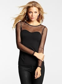 Super cute guess mesh top Vancouver, V6E 1A7