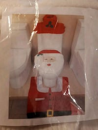Santa Claus toilet set price is firm  Edmonton, T5S 2B4
