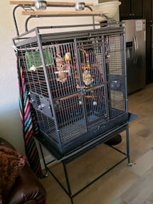 Large bird cage and all accessories, message me for details.