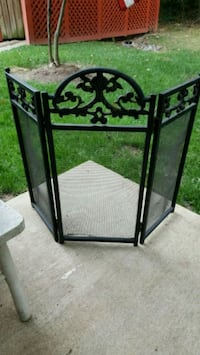 Metal Fireplace Cover