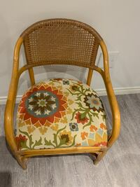 2 Wicker chair