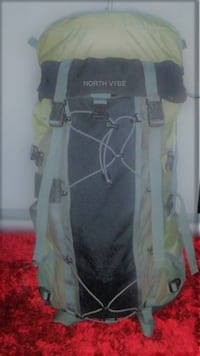 North Vybe hiking backpack 80 liters total