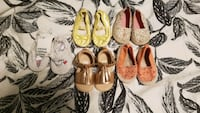 5 H&M baby girl summer shoes - size 18-19 - 2.5-3.5