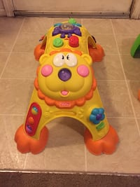 Baby's yellow and red activity walker Denver, 80216