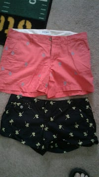 2 Pair of Women's Shorts