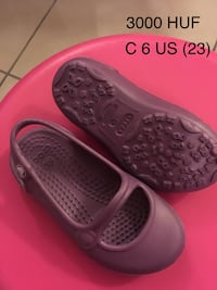 Flats for girl, Crocs, C6, 23, used Будапешт, 1037