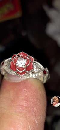 Vintage sterling silver rose ring Virginia Beach, 23455