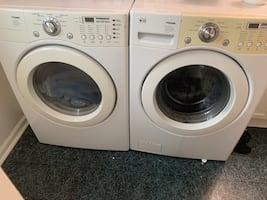 Lg Fromm washer and dryer