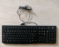 Like New-Wired Logitech keyboard. Great condition!! Brampton, L6Y 2N4