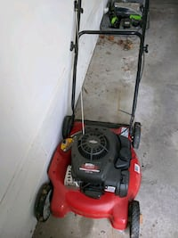 red and black push lawn mower Omaha, 68134