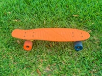 Orange & Blue Penny Board