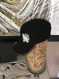 black and white floral cap Camrose