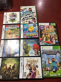 NINTENDO DS AND XBOX GAMES BRAND NEW Windsor, N8P 1K1