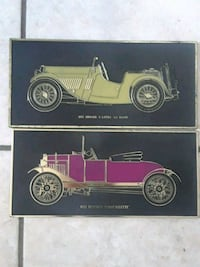 Antique car wall plaques Holiday, 34691