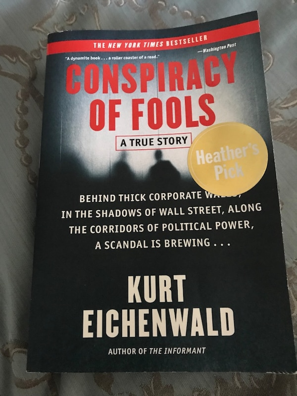 Conspiracy of fools book - brand new