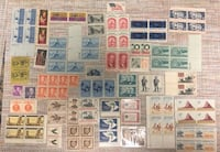 Vintage lot of old stamps Long Beach, 90807