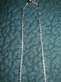 """20"""" STERLING SILVER CHAIN NECKLACE Redford Charter Township"""