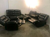 HOT PRICE !! •3 pcs Expresso Recliners set