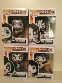Funko KISS Music Pop Figures