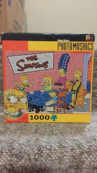 The Simpsons Photomosaic 1000 pcs Puzzle