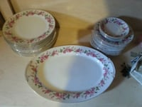 Wentworth china red rose dishes platter Rockville, 20850