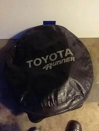 Toyota 4 Runner tire cover for 31.5 10 15. Also fits 265. 75 R 15.    Z Silver Spring, 20904