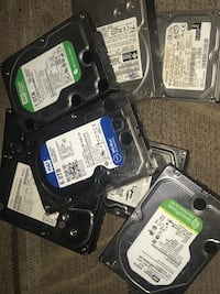Pc hard drives formatted and working 250 gb-6 tb Anchorage, 99503