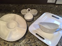 Set of White Serving Dishes Penfield, 14526