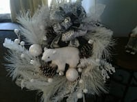homemade wreaths. indoor or out.with led lights Niagara Falls, L2G 3A1