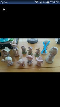 Various figurines.  $10 for all Oak Grove, 42262