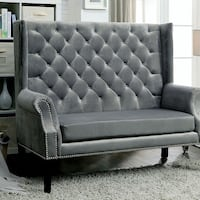 Gray Wingback Accent Chair  San Diego, 92126