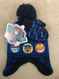 New Paw Patrol Hat and gloves (pick up only) Alexandria, 22310