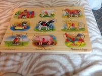 Melissa and Doug Wooden Puzzle Oshawa, L1H