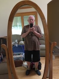 Gorgeous mirror…handsome guy not included! Stewartstown