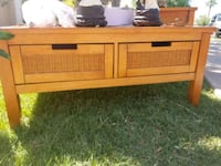 brown wooden sideboard with cabinet Phoenix, 85006