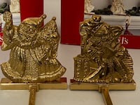 2 Brass Stocking Holders Elizabethtown, 42701