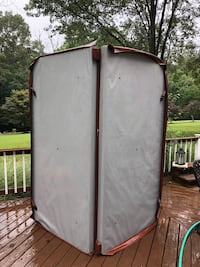 """Caldera hot tub cover 7'6""""x7'6"""" over $475 new $125 or best offer Fairfax, 22030"""