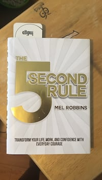 Mel Robbins self help book Vaughan, L6A 3C7