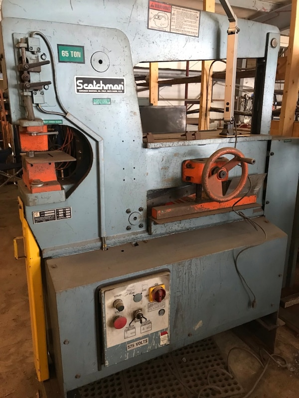 Used Iron Worker 65 Ton For Sale In Oro Medonte