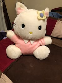 white and pink Hello Kitty plush toy Reston, 20191