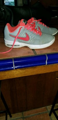pair of gray Nike basketball shoes Bakersfield, 93308