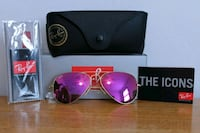 NEW!! RAY-BAN RB 3025 112/4T CYCLAMEN PINK FLASH   Springfield