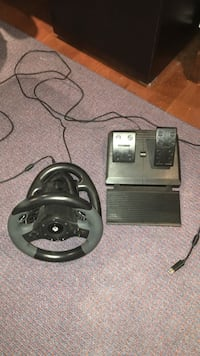 HORI Racing Wheel With Pedal And USB